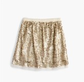 J.Crew Girls' sequin tulle skirt