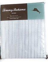 Tommy Bahama Paloma Beach Stripe Grey Twin Sheet Set
