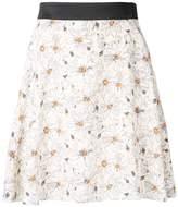 GUILD PRIME daisy print mini skirt
