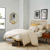 west elm Stella Metal Bed - Brass