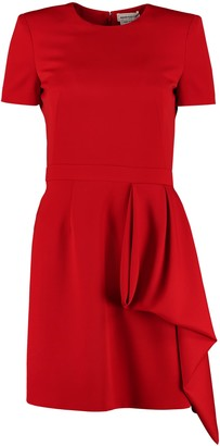 Alexander McQueen Virgin Wool Dress
