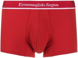 Ermenegildo Zegna Logo Boxer Shorts