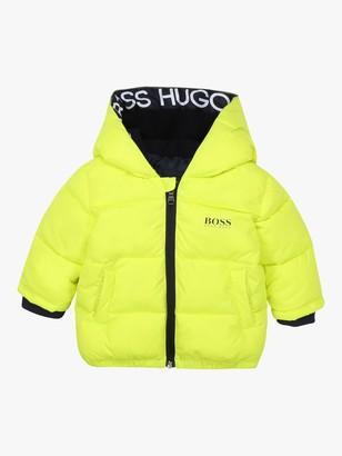 HUGO BOSS Baby Waterproof Puffer Jacket