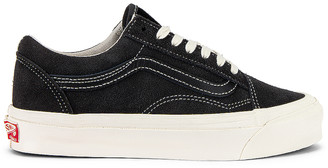 Vans OG Old Skool XL in Asphalt & Black | FWRD