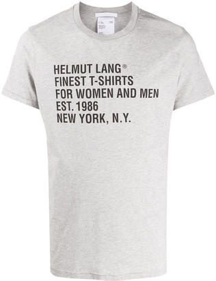 Helmut Lang Standard relaxed-fit cotton T-shirt