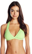 Maaji Women's Spearmint Knots Bikini Top with Soft Cups