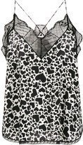 Zadig & Voltaire Zadig&Voltaire Christy Heart print camisole