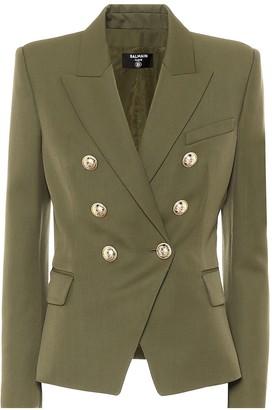 Balmain Embellished wool blazer