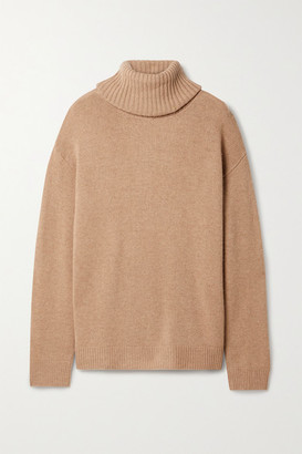 HOLZWEILER Hovin Wool And Cashmere-blend Turtleneck Sweater - Tan