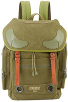 Givenchy Rider Men's Canvas Backpack, Khaki