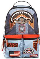 Sprayground Unisex Buzz Aldrin Mars Patches Backpack