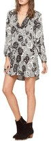 Amuse Society Women's Etta Floral Print Shift Dress