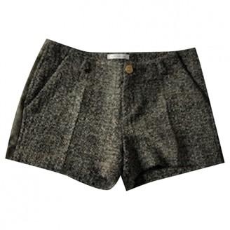 Faith Connexion Brown Tweed Shorts for Women