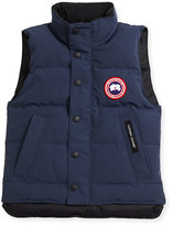 Canada Goose Youth Vanier Arctic-Tech Vest, Dark Blue, XS-XL