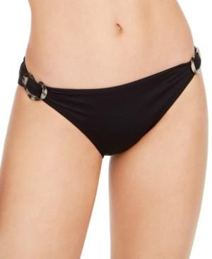 Kate Spade Side-Buckle Classic Bikini Bottoms Women's Swimsuit