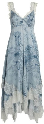 AllSaints Skylar Hatsukoi Midi Dress