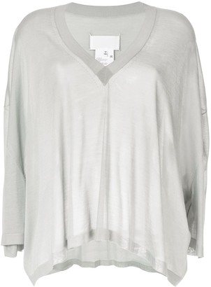 Maison Margiela Batwing Sleeve Knitted Top