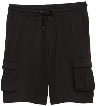 Onia Justin Drawstring Knit Cargo Shorts