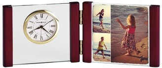 Howard Miller Hadin, A Classic, Contemporary & Modern, Sleek Table Clock with Photo Insert, Reloj de Mesa
