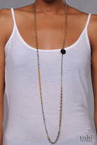 Dirty Librarian Chains Atlas Necklace