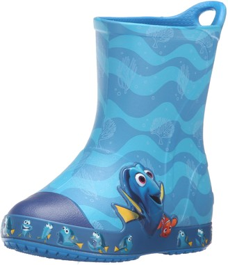 Crocs Bump It Finding Dory Rain Boot (Toddler/Little Kid)