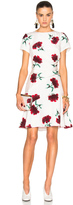 Oscar de la Renta Floral Day Dress