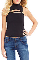 GUESS Valeria Mock Neck Sleeveless Top