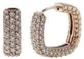 Effy Jewelry Pave Classica 14K Rose Gold Diamond Earrings, 1.77 TCW