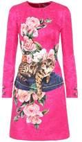 Dolce & Gabbana Printed brocade dress