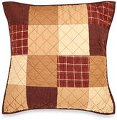 Donna Sharp Logan Patch Square Throw Pillow