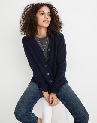 Madewell (Re)sourced Cashmere Ex-Boyfriend Cardigan Sweater