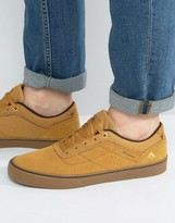 Emerica Herman Trainers In Tan