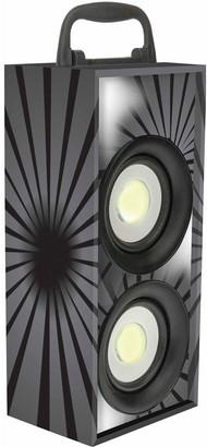 Lexibook Mini Bluetooth Karaoke Tower with Microphone - Black