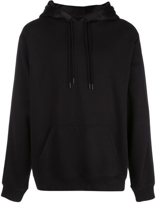 RtA Side Stripe Detail Drawstring Hoodie