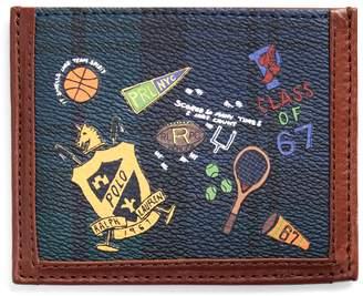 Ralph Lauren Tartan Vegan-Leather Card Case