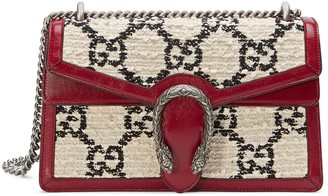 Gucci Dionysus GG tweed small shoulder bag