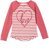 Celebrity Pink Berry Yarn Dye Stripe Tunic - Girls