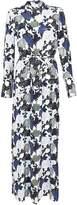 Equipment Floral Print Shirt Long Dress