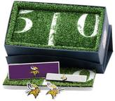 Cufflinks Inc. Men's Minnesota Vikings Cufflinks 3-Piece Gift Set