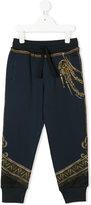 Dolce & Gabbana Royal print track pants
