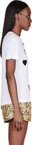Stella McCartney White Jewel Embellished T-Shirt