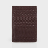 Paul Smith No.9 - Brown Leather Credit Card Holder