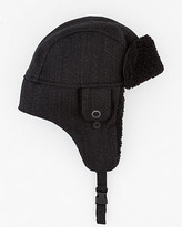 Le Château Wool Twill Aviator Hat