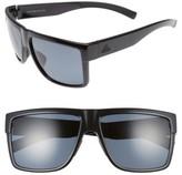 adidas Women's 3Matic 60Mm Sunglasses - Black Shiny / Grey Polar