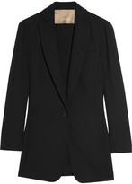 Max Azria Cutout crepe blazer