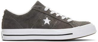 Converse Grey Suede One Star Vintage OX Sneakers