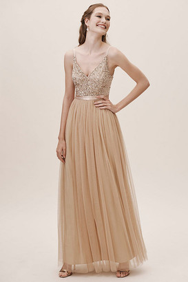 Anthropologie Avery Dress By in Pink Size 4
