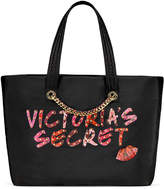 Victoria's Secret Victorias Secret Stud Logo Weekender Tote