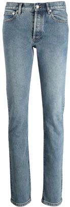 A.P.C. Low-Rise Slim-Cut Jeans