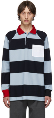 Burberry Blue Barford Monogram Polo